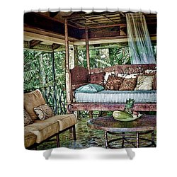 A Place To Retreat Shower Curtain by Pamela Blizzard