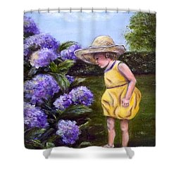 A Precious  Moment Shower Curtain