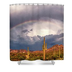 A Promise Made Shower Curtain