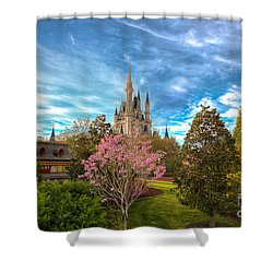 A Quiet Countryside Shower Curtain