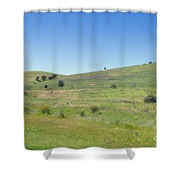 Shower Curtain featuring the photograph A Quiet Interlude by Linda Lees