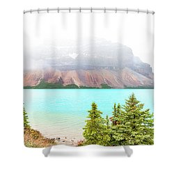 Shower Curtain featuring the photograph A Quiet Place by John Poon