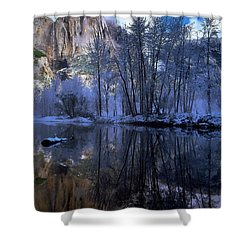 A Quiet View Shower Curtain