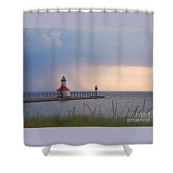 A Quiet Wonder Shower Curtain