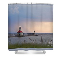 A Quiet Wonder Shower Curtain