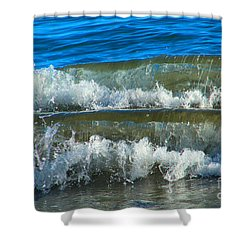 A Race For Non-existence, Point Reyes National Seashore, Marin C Shower Curtain by Wernher Krutein
