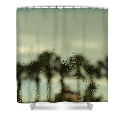 A Rainy Day Shower Curtain by Christopher L Thomley