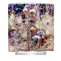 A Rather Thorny Subject Shower Curtain