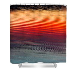 A Resplendent Reflection Shower Curtain