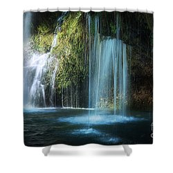 A Resting Place At Natural Falls Shower Curtain