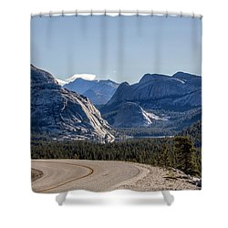 Shower Curtain featuring the photograph A Road To Follow by Everet Regal