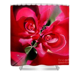 A Rose By Any Other Name Shower Curtain by Blair Stuart