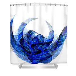 A Rose By Any Other Name Shower Curtain by Thibault Toussaint