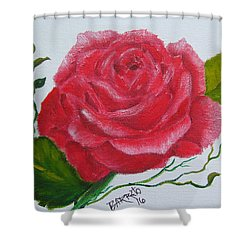 A Rose For You Shower Curtain
