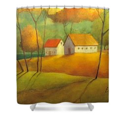 A Safe Haven Shower Curtain by Eleatta Diver
