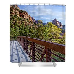 A Scenic Hike Shower Curtain