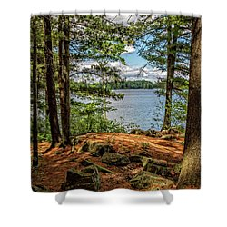 A Secluded Spot Shower Curtain
