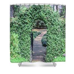 A Secret Doorway Shower Curtain