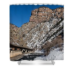 A Section Of The World-famous Glenwood Viaduct Shower Curtain