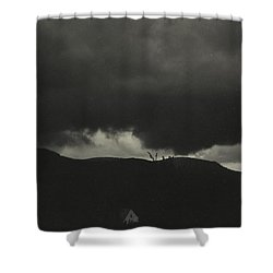 A Sequence Of Ten Cloud Photographs Shower Curtain