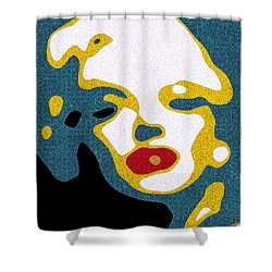 A Sexy Glance Shower Curtain