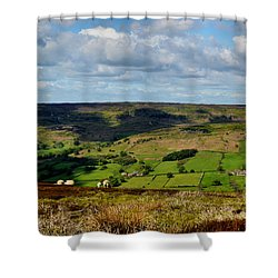 A Sheep's Life Shower Curtain