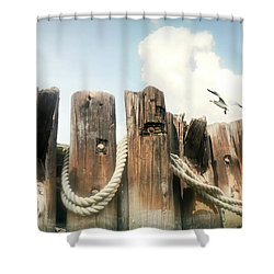 It's A Shore Thing Shower Curtain