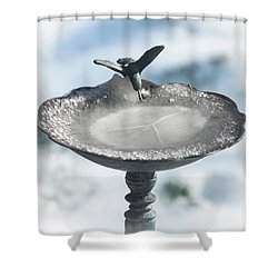 Shower Curtain featuring the photograph A Sign Of Peace  by Terry DeLuco