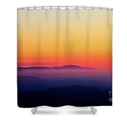 Shower Curtain featuring the photograph A Simple Sunrise by Douglas Stucky