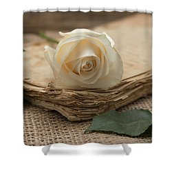 Shower Curtain featuring the photograph A Simple Time by Kim Hojnacki