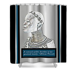 A Sisters Portrait 2 Shower Curtain