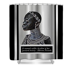 A Sisters Portrait Shower Curtain