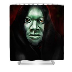 A Sith Fan Shower Curtain