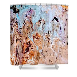 A Slice Of Earth Shower Curtain