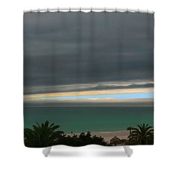 A Sliver Of Hope Shower Curtain by Mariarosa Rockefeller