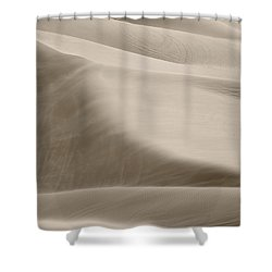 Shower Curtain featuring the photograph A Soft Oasis  by Suzanne Oesterling