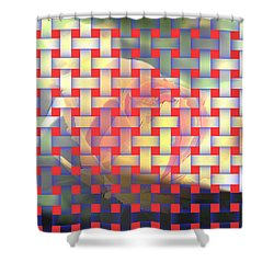 A Soft Rose   Shower Curtain by Jeff Swan