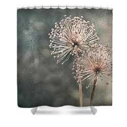 A Soft Whisper Shower Curtain
