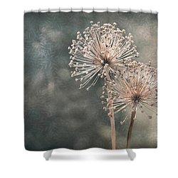A Soft Whisper Shower Curtain
