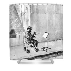 A Soldier's Song Shower Curtain
