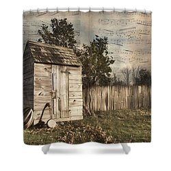 Shower Curtain featuring the photograph A Song Before You Go by Robin-Lee Vieira