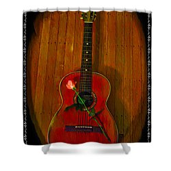 A Song For My Love Shower Curtain by Bill Cannon