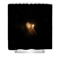 A Soul On Its Way Home Shower Curtain