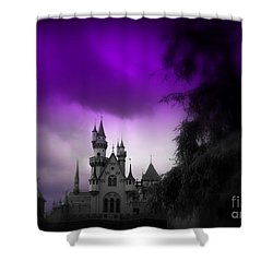 A Spell Cast Once Upon A Time Shower Curtain