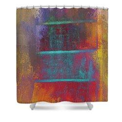 A Splash Of Color Shower Curtain