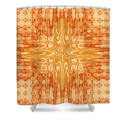 A Splash Of Colors Shower Curtain by Michelle H