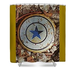 A Star Is Still A Star Even If It's Rusty Shower Curtain