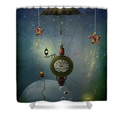 A Stitch In Time Saves Nine Shower Curtain