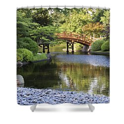 A Stone's Throw Away Shower Curtain