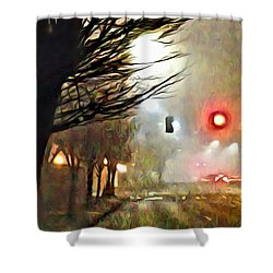 A Stop On My Journey Shower Curtain